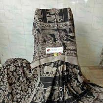 Exclusive Kalamkari crape silk sarees | Buy Online kalamkar...