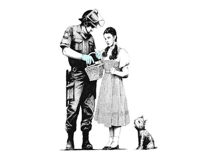 Banksy, Oz