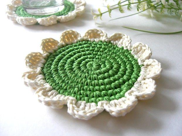 Crocheted Coasters...