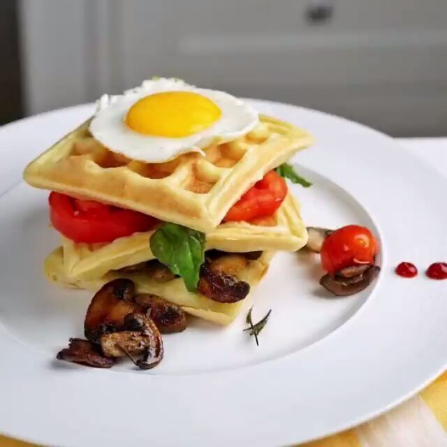 12 Resep Dan Cara Membuat Waffle Enak Dan Lembut Instagram Alfilianurprimal Kumpulanresepmasak Waffle Buttermilk Resep Roti