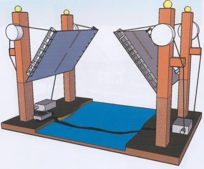 Boceto del proyecto: puente levadizo