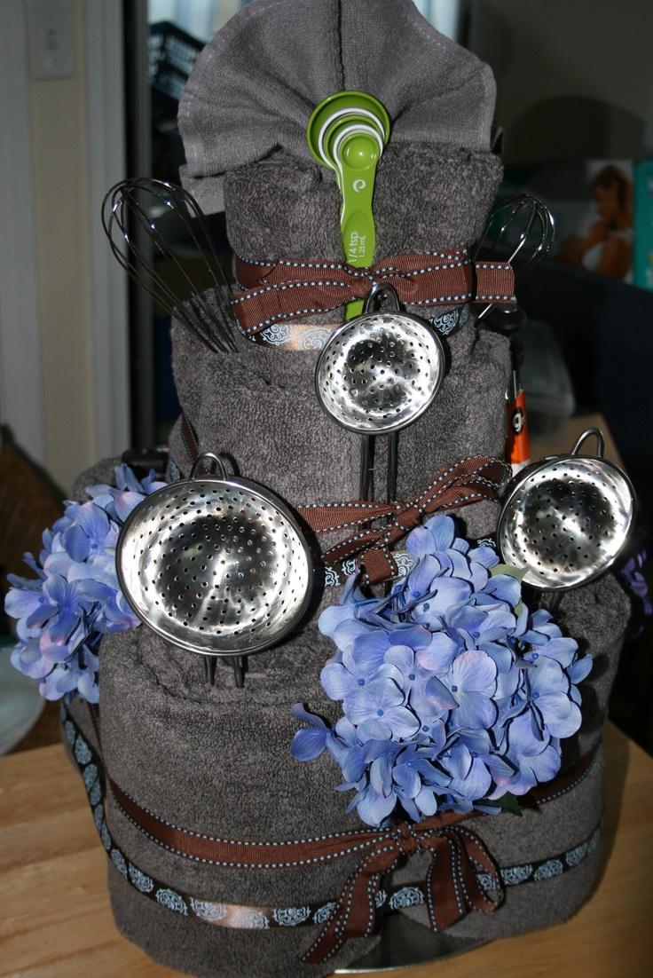 Wedding Towel Cake O Baby Bridal Bridal Shower Ideas