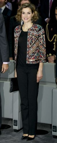 12 Nov 2015 - Queen Letizia attends Ambassadors of the Spanish Brand awards. Click to read more