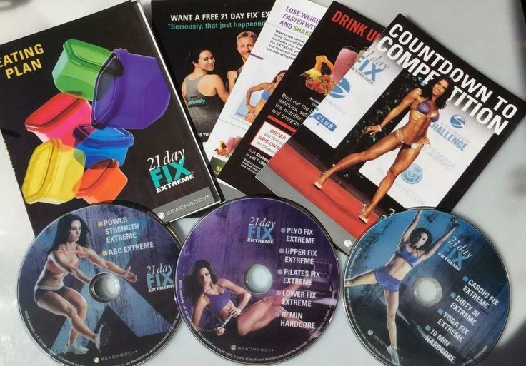 Fitness DVDs 109130: New. 21 Day Fix Extreme. Workout Kit, Brand New. Eating Plan Bonus Dvd!!! BUY IT NOW ONLY: $41.8