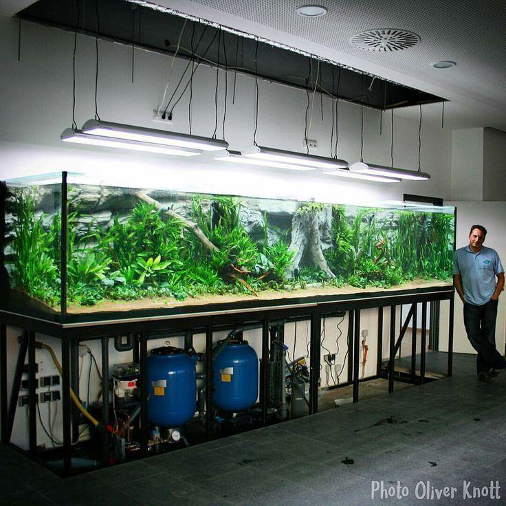 Oliver Knott's 16' long tank