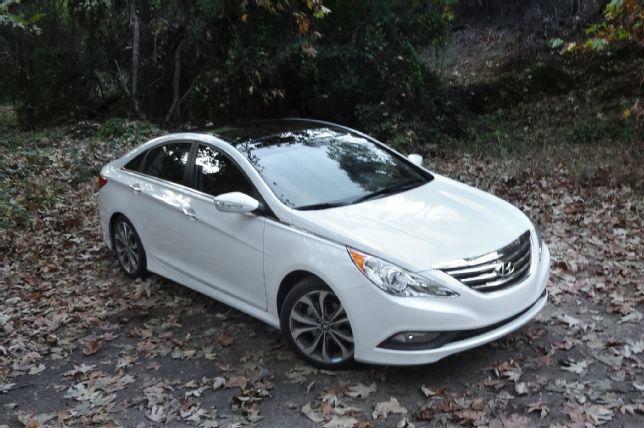 2015 Hyundai Sonata Limited White