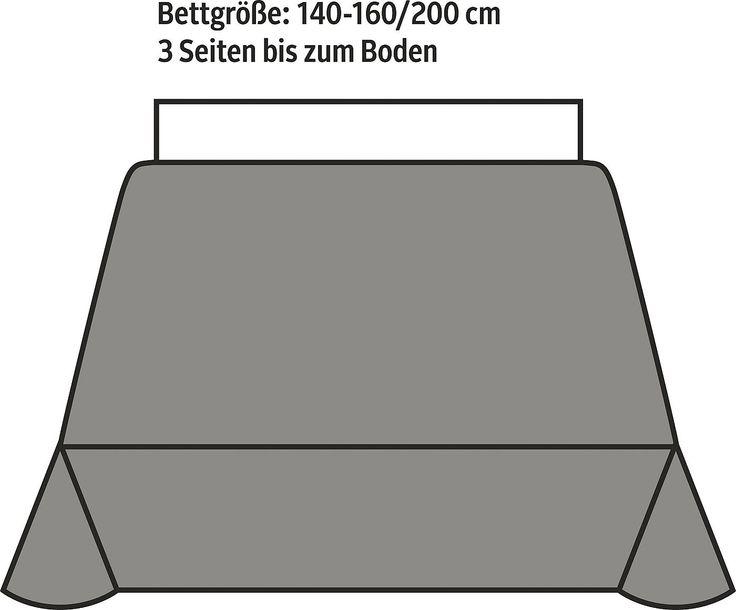 Die verspielte Tagesdecke »Sciacca« von Bassetti interpretiert die sizilianische Keramikkunst eher modern. Die Bordüre ist aus farbenprächtigen Elementen gestaltet und die mittigen Paisleys verleihen der Decke eine herrliche Leichtigkeit. Die Tagesdecke ist aus 100% Baumwolle hergestellt worden und schließt mit einer natürlichen Baumwollband-Einfassung ab.  Artikeldetails:  Decke mit Ornamenten...