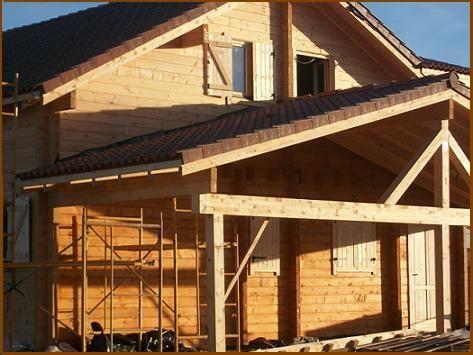 Mais de 1000 ideias sobre casas de troncos no pinterest - Quiero construir una casa ...