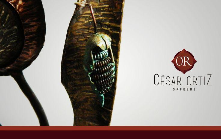 #escultura #totem #Handmade #artesanía #fuego #cesarorfebre #formación #rancagua #orfebre #cobre