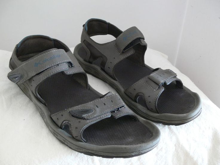 Well Worn Columbia Techlite Gray Sandals Size 14 Mens Shoes Style BM4398-231 #Columbia #SportSandals