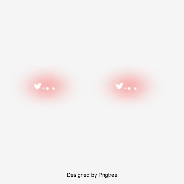 Red Decoration Decoration Lovely Cartoon Red Blush Overlays Cute Photo Overlays Overlays Picsart