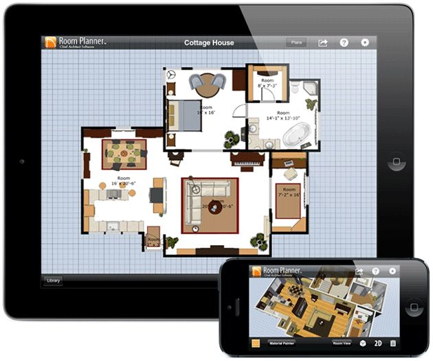 Architecture Room Application Planner In Cool Home Completed With Some Rooms And Some Furniture Inside Nice Design The Room Planner App To