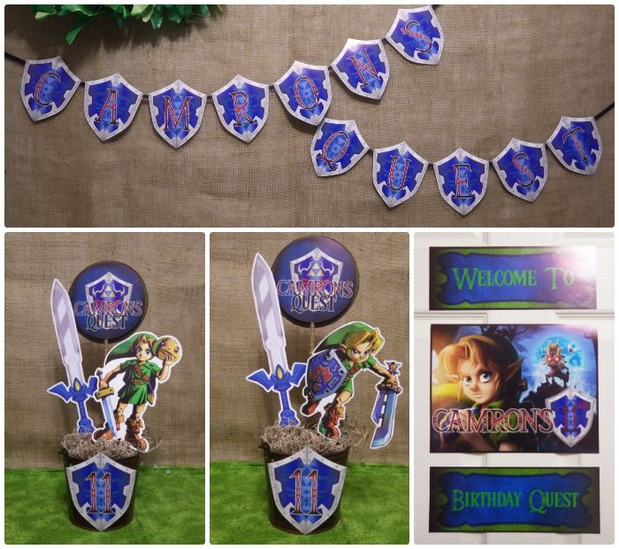 38 best legend of zelda party ideas images on pinterest for Decoration zelda