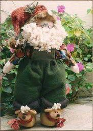 Papa Noel con babuchas de reno