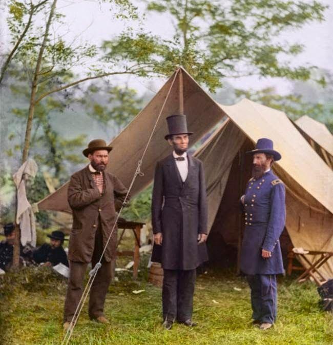 Original green tea: Fotos coloreadas de la Guerra de Secesión american...