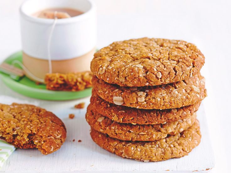 anzac biscuits biscuit recipe bagel simple recipes anzac day baking ...