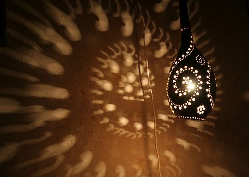 Home Made Lamp Idea Artistic Lamp In Natural Handicraft Homemade Handicraft Ceiling Lamp