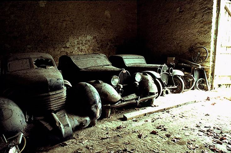 Barnfinds. Just a Cord and a couple of Bugattis stashed away, no big deal.
