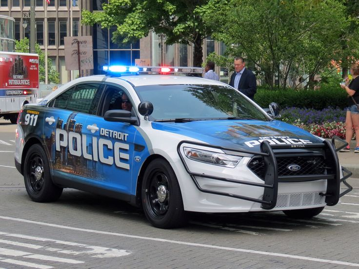 New Detroit Police Design