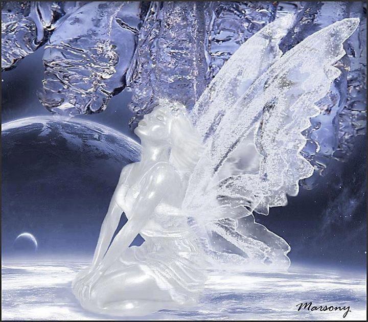 Fairy Ice sculpture                                                       …