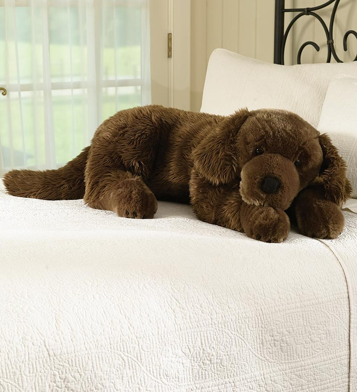Large Dog Pillow, Cuddle Pet Pillow - Plow & Hearth - Sanka would not like you using this body pillow - LMP
