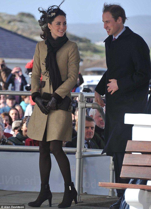 The Duchess, Kate, has so much class.