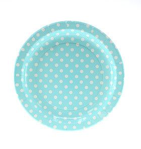 Pool Dots Dinner Plates