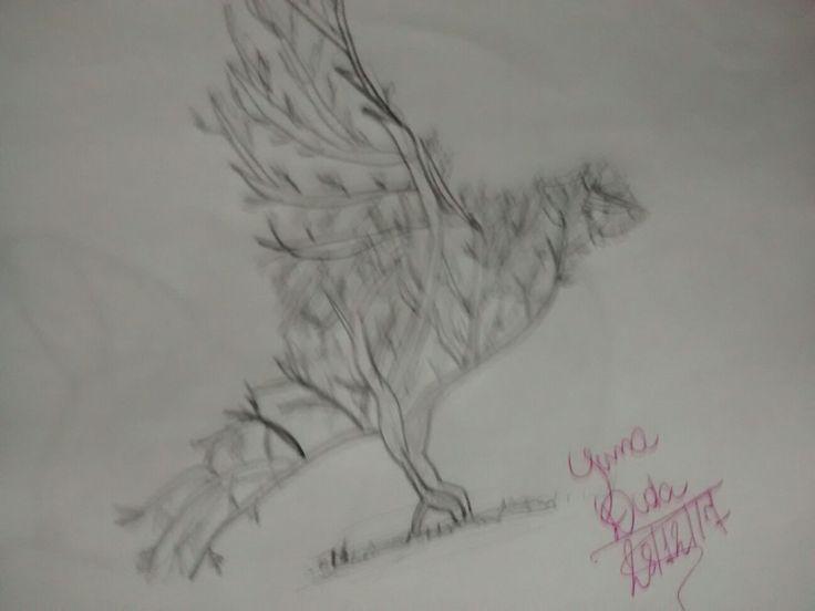 🐦🍃🌲❤ (foto borrada propositalmente, pássaro voando 😊)