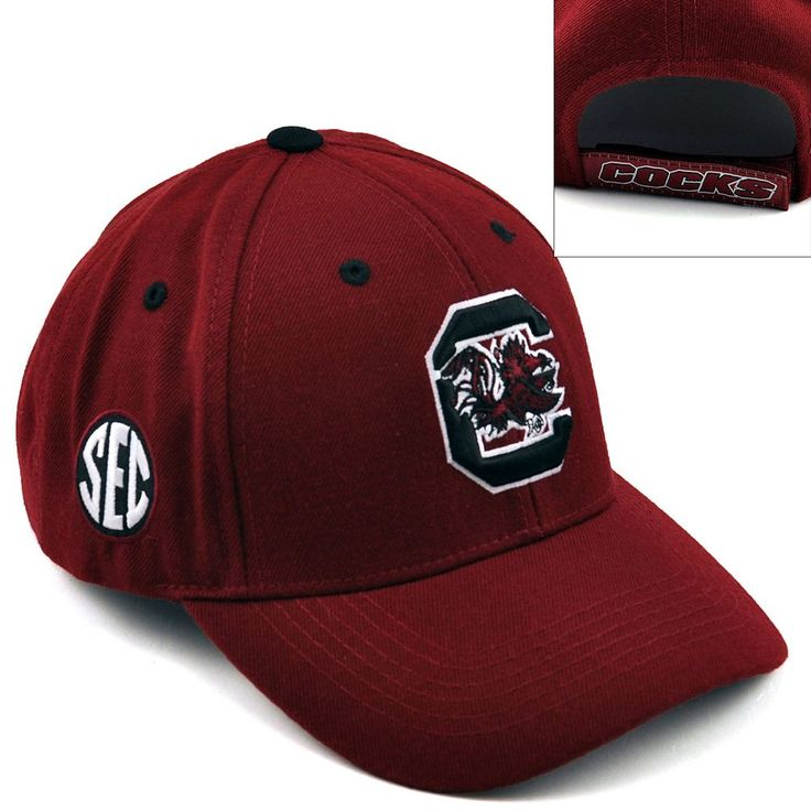 Top of the World South Carolina Gamecocks Triple Conference Baseball Cap - Adult, Men's, Red