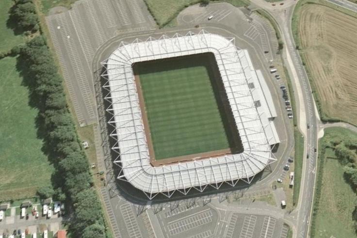 Darlington Arena Stadium - Darlington FC from Football.co.uk