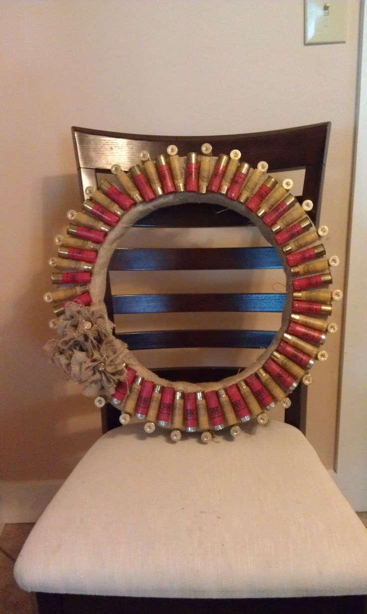 DIY: Shotgun Shell Wreath | DIY Projects | Pinterest ...