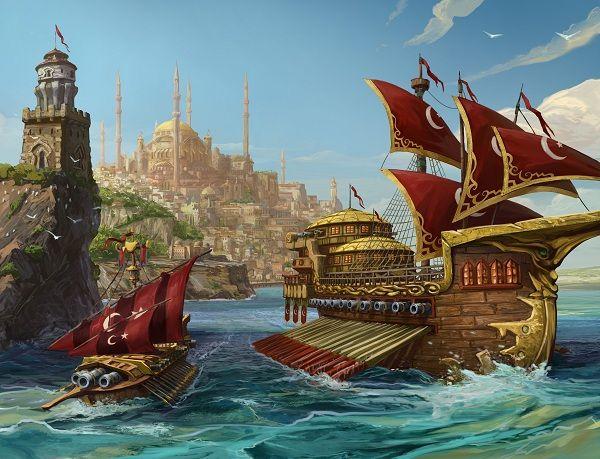 """ntFILns.jpg (600×459)Seafight oyuncularının sabırsızlıkla beklediği """"Osmanlı Gemisi Kalyon"""""""