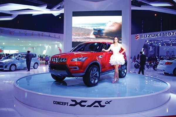Exhibition Stand for Maruti Suzuki during the launch of car. Follow us on linkedin for regular updates https://www.linkedin.com/company/expo-display-service-dubai