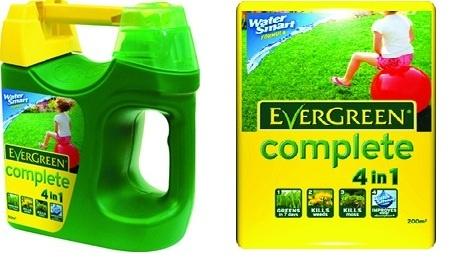 Scotland - Evergreen Complete Lawn Treatment Spreader and Refill - £16 for both from Cardwell Garden Centre's 50 Deals of Summer