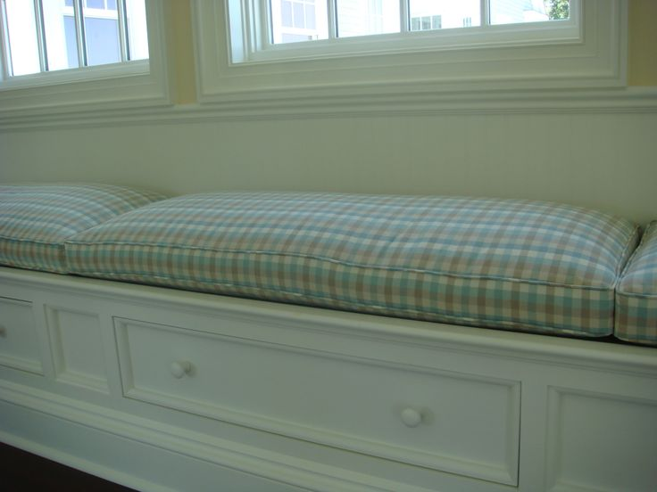 1000 Ideas About Window Seat Cushions On Pinterest Window Seats Bay Window Seating And
