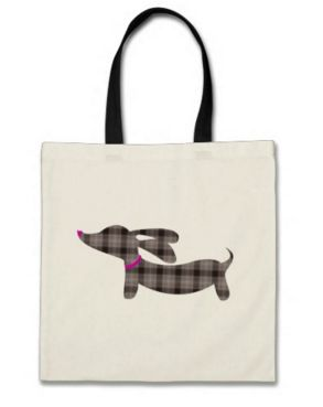 Small Doxie Tote Bags - Lots of Colors – The Smoothe Store