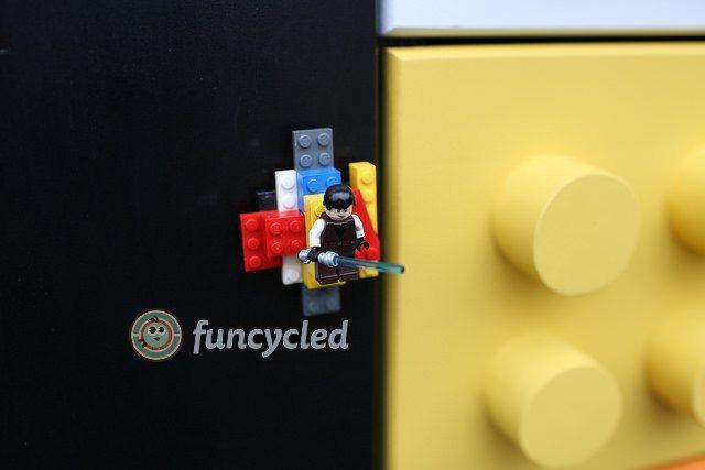 How To Make A Lego Cabinet/Dresser
