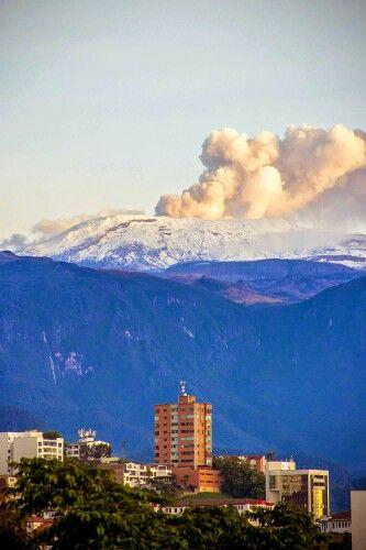 Nevado del Ruiz. Manizales. Colombia