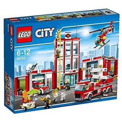 LEGO City 60110 - Große Feuerwehrstation