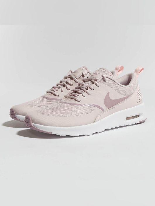 zapatillas nike blancas con rosado