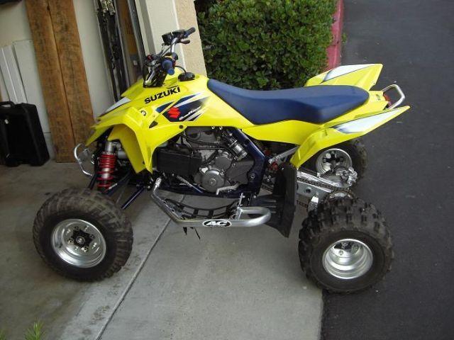 2007 suzuki quad racer lt r 450k 4 wheeler yellow blue for Honda 4 wheeler dealers near me
