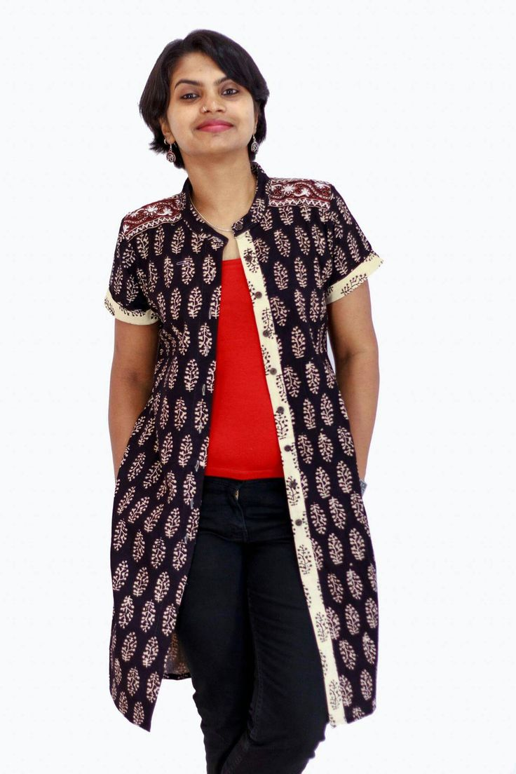 Ethnic swag from sukritis. can be wore as a normal kurta and can also be used as a jacket