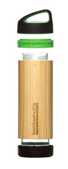 The Bamboo Bottle is available for Co-Branding with your message laser engraved onto the bamboo sleeve.    GLASS  for pure taste  Dishwasher-safe, our glass interior won't leach chemicals into your drink-hot or cold.  PLASTIC  for the perfect feel  Using food-grade and BPA free  plastics provides a perfect seal  and perfect feel.  BAMBOO  for durability & insulation  Practically inexhaustible, bamboo grows to maturity in just a few years: Bamboo Growing, Bpa Free, Free Plastic, Glasses Interiors, Perfect Seals, Messages Laser, Tasting Dishwasher Saf, Bamboo Sleeve, Bamboo Bottle