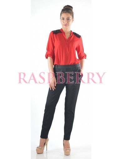 Office Trousers in Stripes - Pantaloni/Colanti/Jeans - Imbracaminte