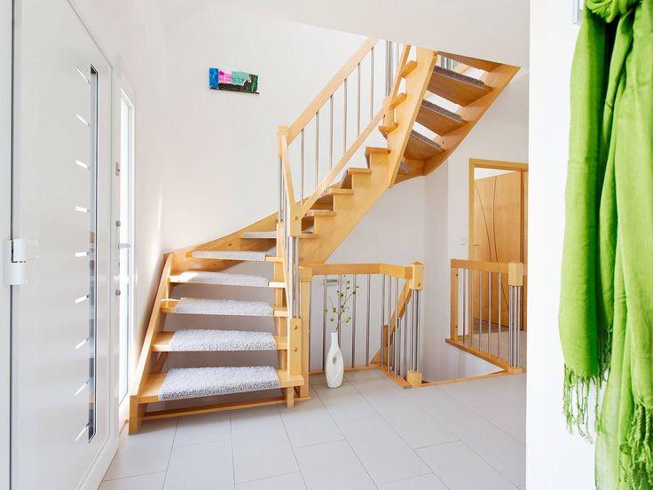 Elegant Treppe Im Einfamilienhaus R 99.20 Von Fingerhut Haus U2022 Mit Musterhaus.net  Inspirationen Für Tolle Nice Design