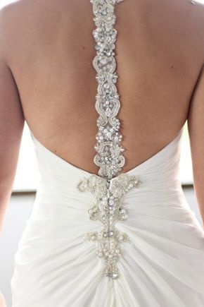Wedding Dress With Low Back