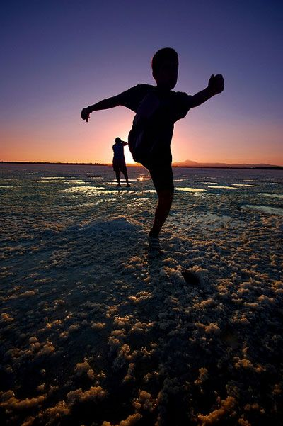 Cypr | Larnaka – Jezioro Słone – impresje o zachodzie słońca
