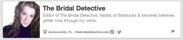 The Bridal Detective | The 25 Best Pinterest Accounts To Follow When Planning Your Wedding
