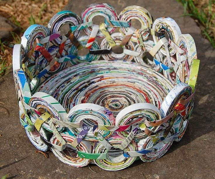 15 Newspaper craft ideas - LittlePieceOfMe
