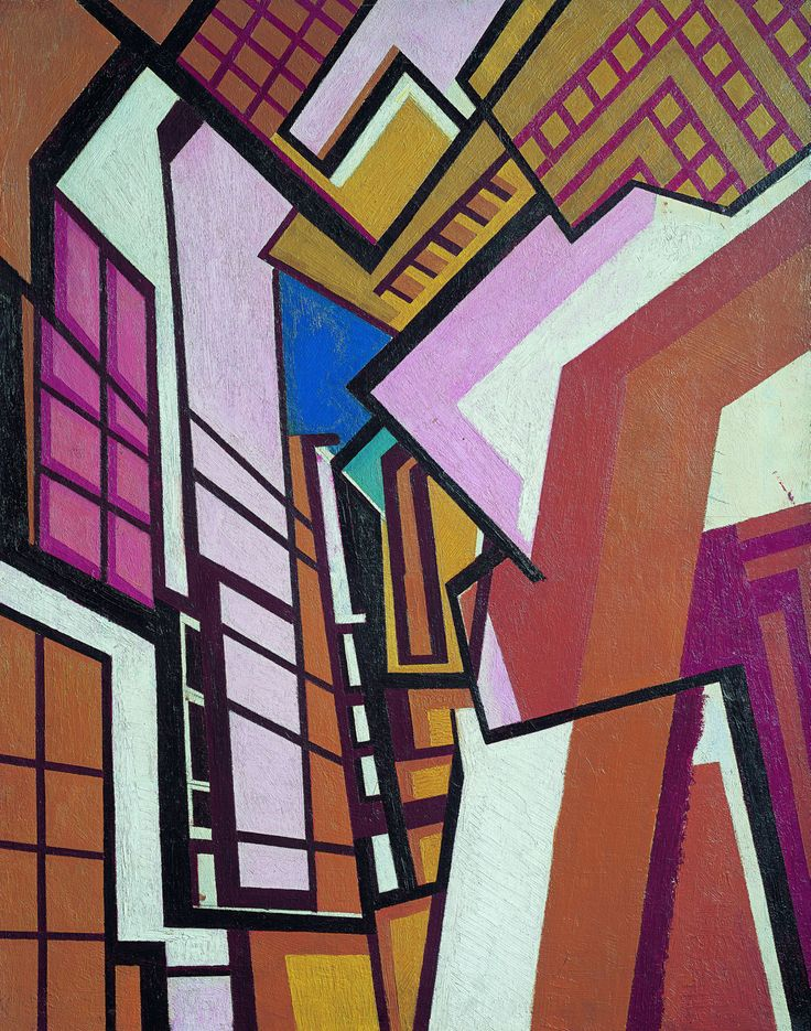 Vorticism - Wyndham Lewis combined futurism and cubism